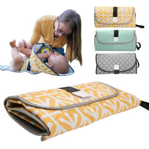 Waterproof Baby Foldable Diaper Changing Mat Travel Home Change Pad