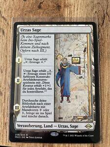 Magic the Gathering - Modern Horizons 2 - Urzas Sage *Land*
