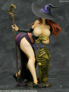 Anime-Dragon-039-s-Crown-Sexy-Sorceress-1-7-Complete-Scale-PVC-Figure-New-IN-Box
