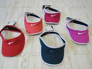 Image is loading NIKE-DRI-FIT-WOMENS-FEATHERLIGHT-VISOR-744961-NWT 40005a274ec