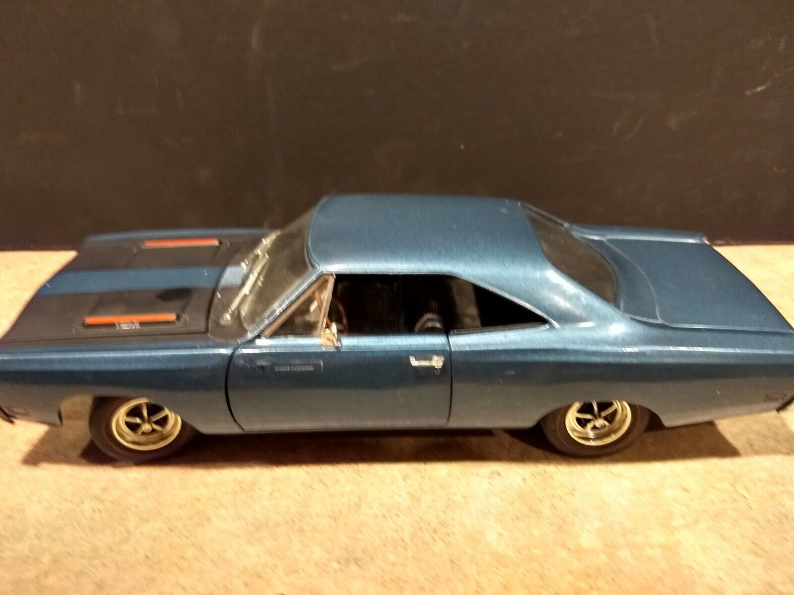 1969 PLYMOUTH Die-cast Scale 1 18. ERTL. Displayed. No Box.