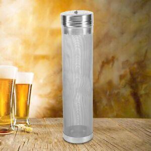 Edelstahl-300-m-Mesh-Filter-Hop-Spider-Bier-Brauen-Hopfen-Filter-fuer-Homebrew