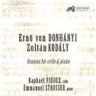 Ernö von Donhanyi, Zoltán Kodály: Sonatas for cello & piano (2014)