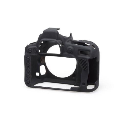 UK Stock EasyCover Silicone Skin Soft Case Cover in Black Nikon D750 BNIB