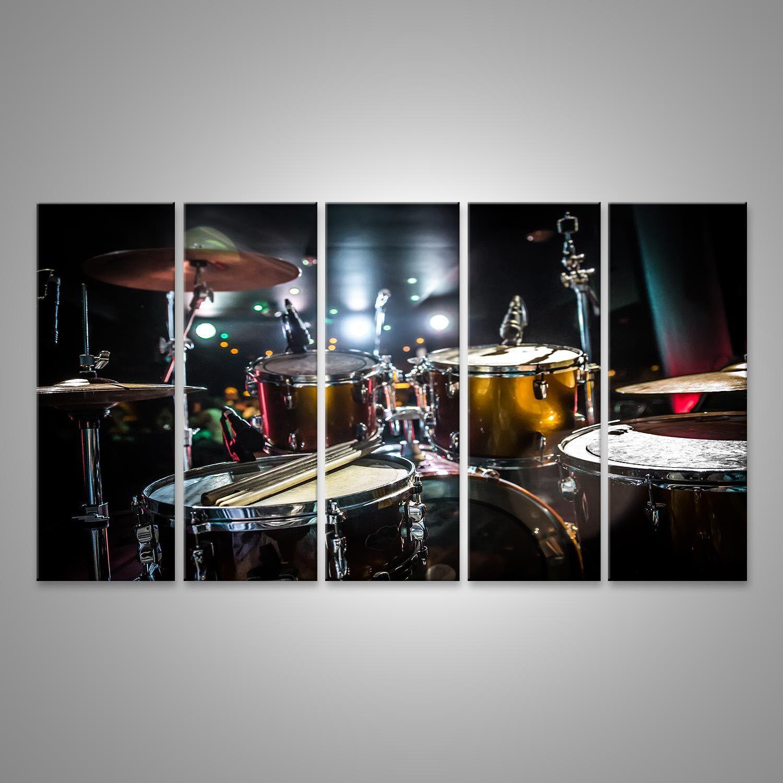 Bild auf Leinwand Trommel auf der Bühne Schlagzeug DSU-5P