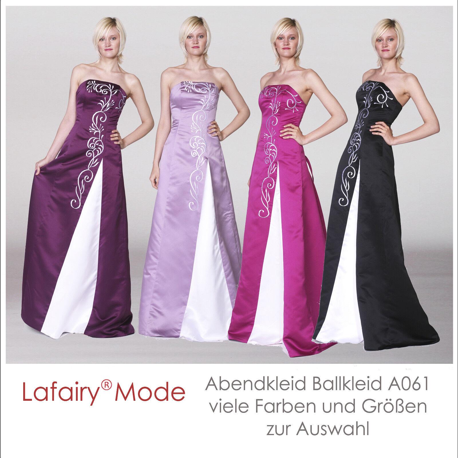 Abendkleid Cocktailkleid Ballkleid Brautjungfern viele Farben Größen von lafairy