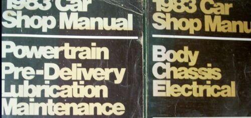 1983 FORD ESCORT LYNX EXP LN7 LN 7 Service Shop Repair Manual SET OEM FACTORY
