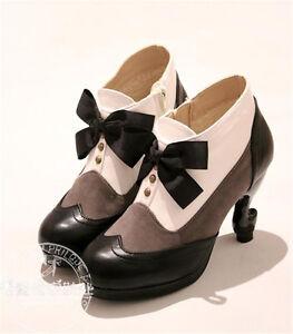 Black-Butler-Sebastian-Ciel-Phantomhive-Cosplay-Creation-Daily-Leather-Shoes