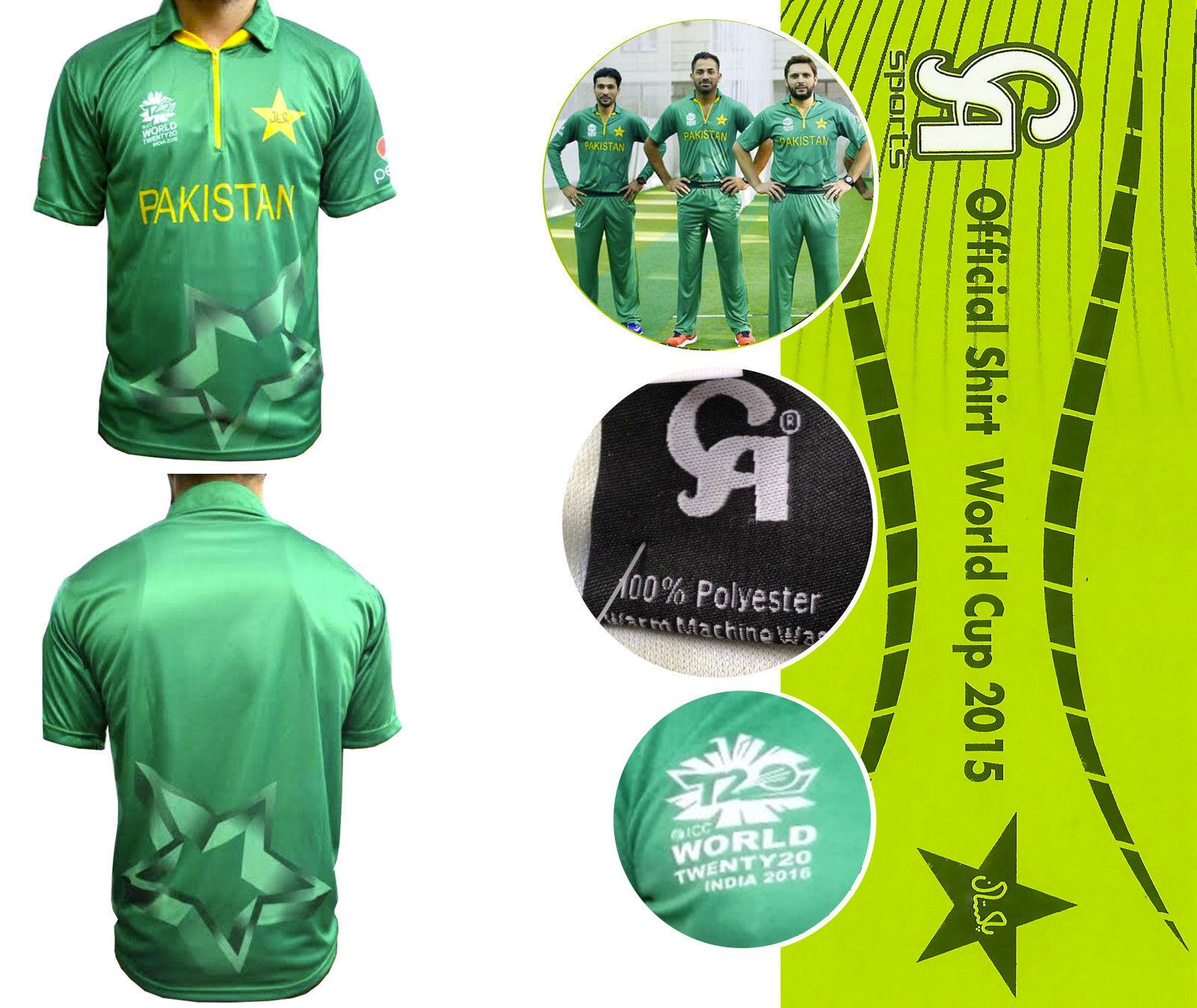 2016 Weltmeisterschaft T20 Herren CA Pakistan Official Cricket Team Twenty20