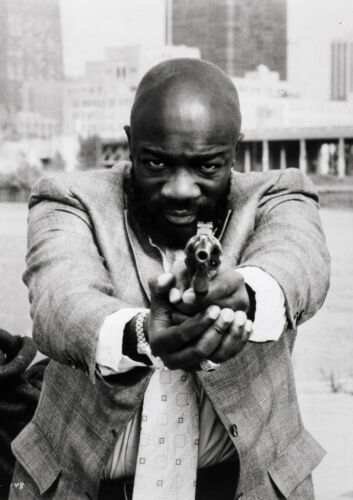 Art print POSTER Canvas Isaac Hayes in Three Tough Guys