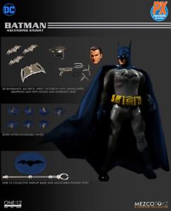 DC Mezco PX Previews Batman Ascending Knight azul Version One 12 Acción Figura
