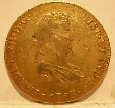 Peru 1813 LIMAE JP Gold 8 Escudos XF Ferdinand 7 Lima Mint