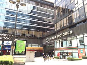 Oficina renta en Plaza Polanco