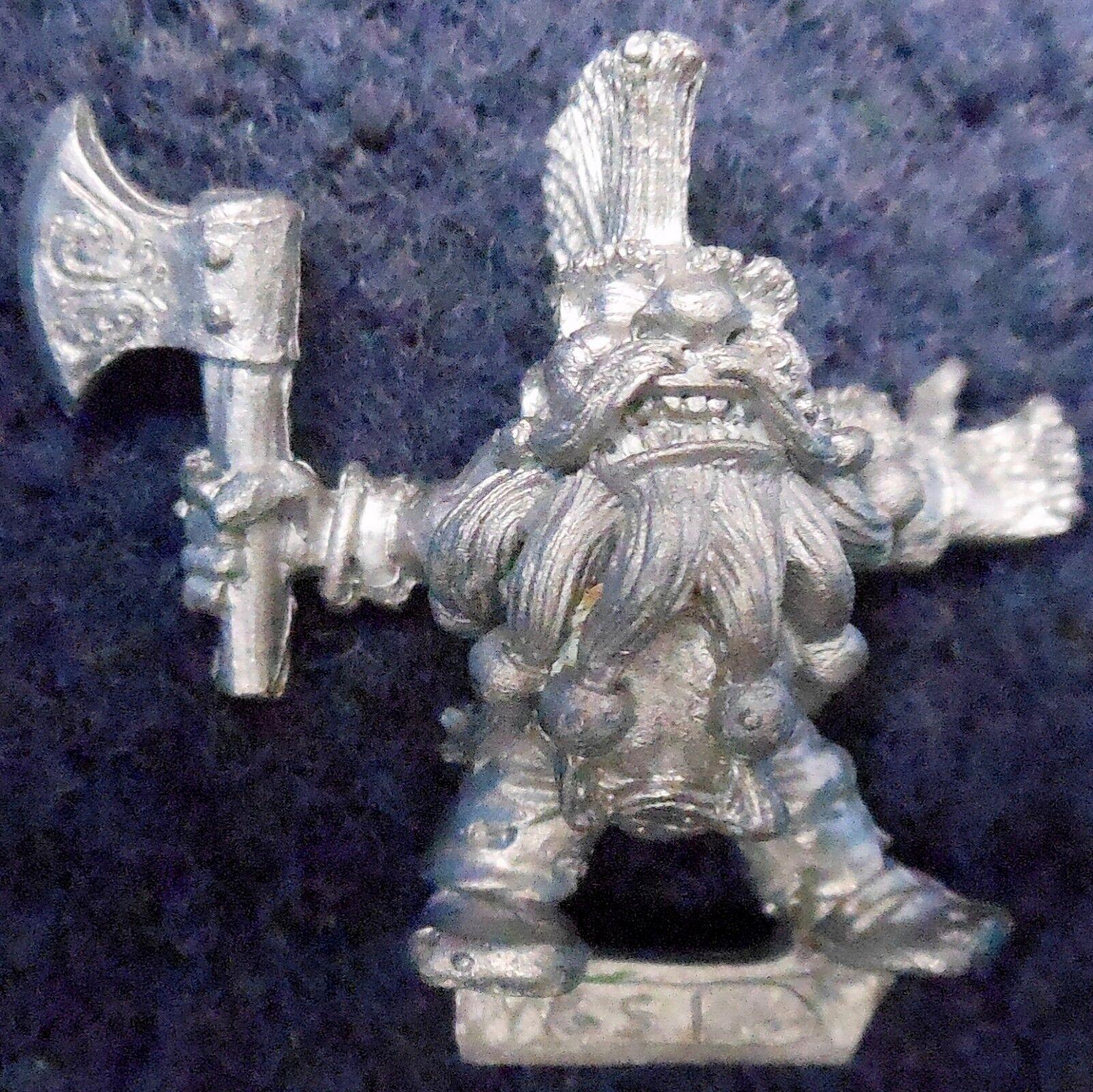 1992 Marauder Dwarf Giant Slayer GS1 Open Hand Variant Citadel Warhammer MM16 GW