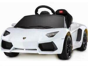 Electric Cars For Kids By Rastar Lamborghini Aventador 6v Ride On