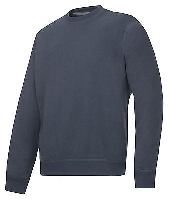 Snickers 2810 Classic Sweatshirt Mens SnickersDirect Black