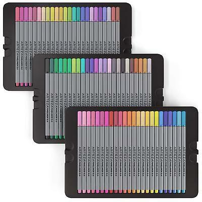ARTEZA Fineliners Fine Point Pens Set of 72 Fine Tip Markers with ARTZ-8103