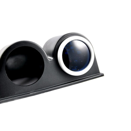 "Universal Car Black 2/"" 52mm 3 Triple Hole Dash Gauge Pod Mount Holder ABS Sales"