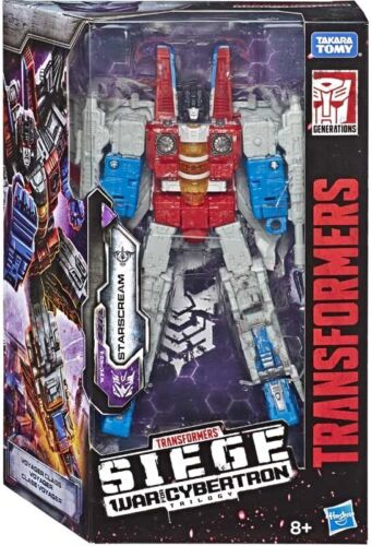 Transformers War For Cybertron Siege Voyager Starscream New in stock