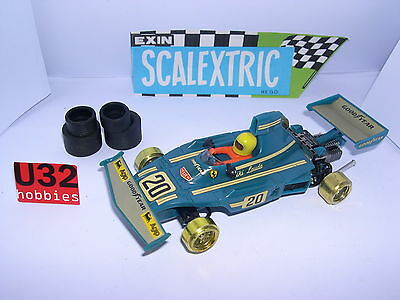 Scalextric Exin C-4052 Ferrari B3 F1 #20 Blau Niki Lauda Ausgezeichnet Zustand To Be Renowned Both At Home And Abroad For Exquisite Workmanship Kinderrennbahnen Skillful Knitting And Elegant Design