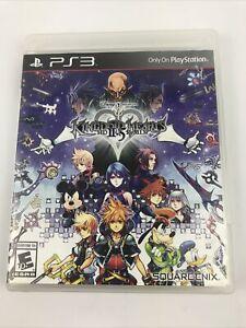 Kingdom Hearts HD 2.5 II.5 ReMIX (Sony PlayStation 3, 2014) Complete CIB Tested