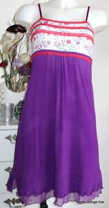 dentelle S violette Kitten Robe Bellina 36 Fiorellino New de nuit Velvet Nightgown en vf6gIYb7y