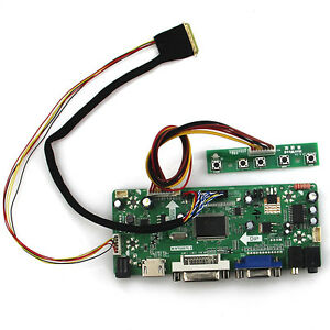 Details about for B140RW02 V0 LP140WD2 1600x900 LCD Controller  Board(HDMI+VGA+DVI