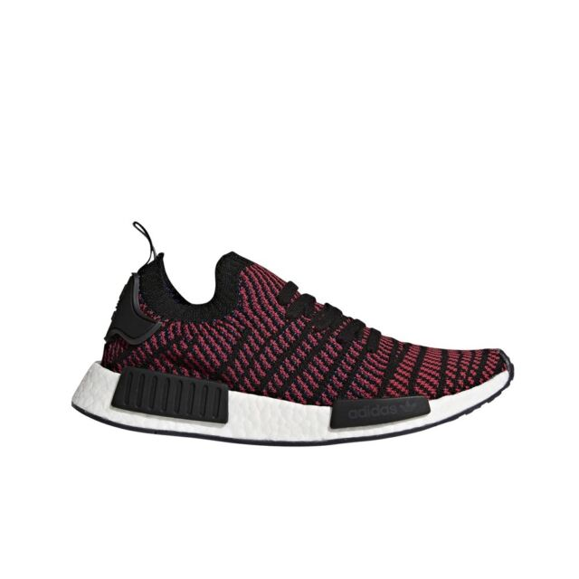 Adidas NMD_R1 Stlt PK Core Black Red Blue CQ2385 Real Boost Free Shipping for Sale