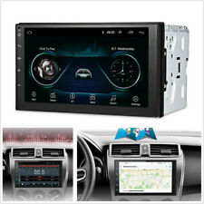 "2Din 7"" Android 8.1 Car GPS Navigation WiFi Radio Auto Stereo Multimedia Player"