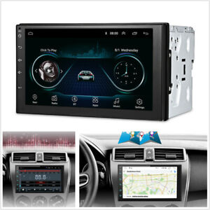 2Din-7-034-Android-8-1-Car-GPS-Navigation-WiFi-Radio-Auto-Stereo-Multimedia-Player