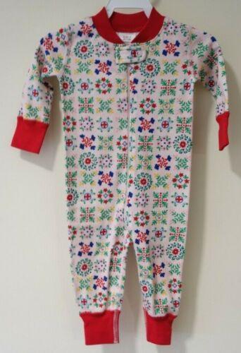 NWT Hanna Andersson Organic Cotton Sleeper Girl/'s Size Newborn