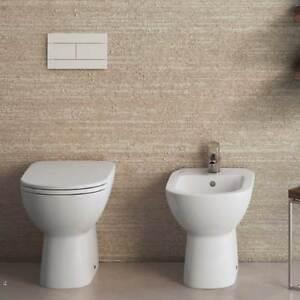 Sanitari a terra distanziati da parete dolomite gemma 2 wc for Sanitari bagno dolomite