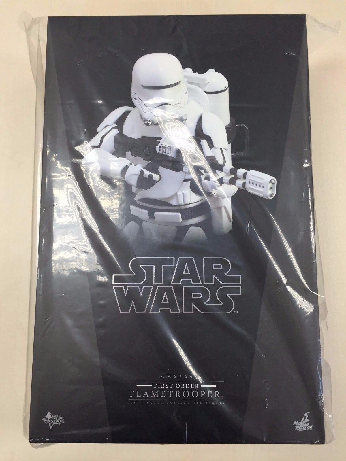 Hot Toys MMS 326 Star Wars Force Réveille de premier ordre flametrooper FIGURE NEW