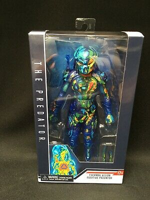 "NECA Thermal Vision Fugitive Predator Exclusive 7/"" Action Figure Predators NIB"