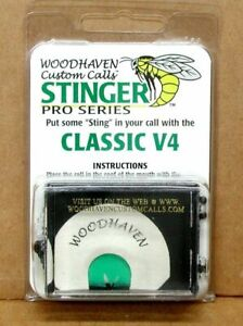 Woodhaven WH013 Red Wasp Turkey Diaphragm Mouth Call