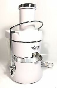 Details about Jack LaLanne's Power Juicer Express Model MT 1020 1 Extractor White Works