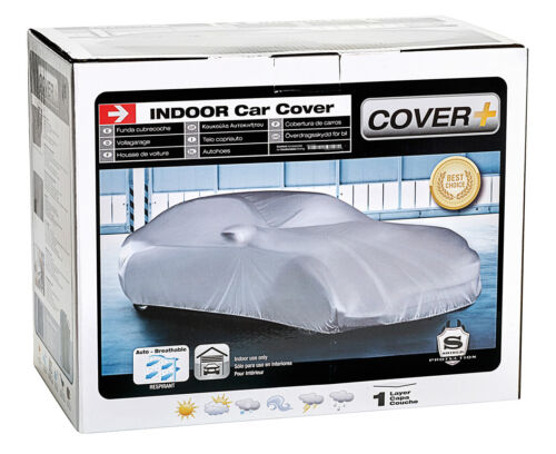 Sumex Indoor Dustcover Soft Cloth Fabric Breathable Car Protection Cover Large