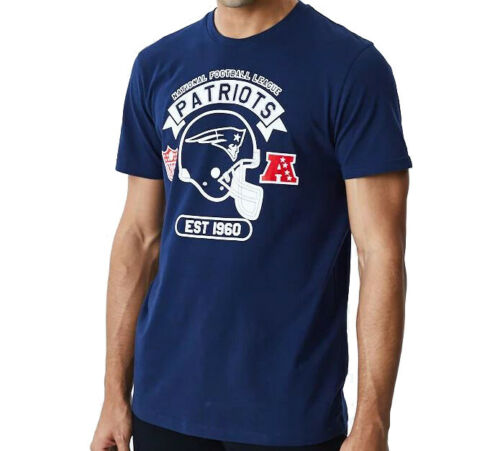 New Era T-Shirt NFL Graphic New England Patriots navy