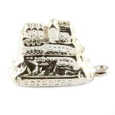 Castello di Edimburgo Sterling 925 SILVER CHARM-SCOZIA SCOTTISH