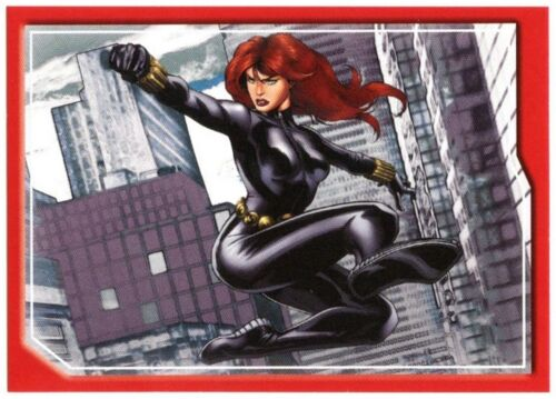 Black Widow #69 Marvel Avengers Assemble 2013 Panini Sticker C1778