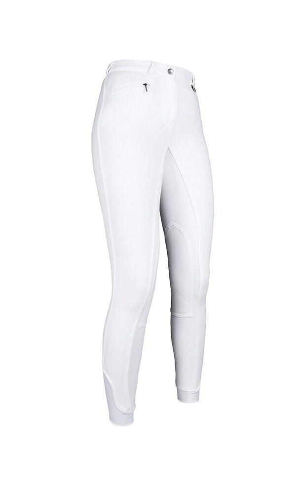Damen Reithose Kniebesatz BREST Easy HKM weiß NEU  | Angemessener Preis  | Primäre Qualität  | Ausgezeichnet (in) Qualität