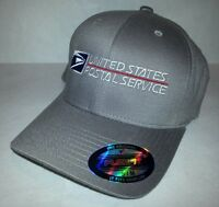 Flexfit Embroidered Flexfit Baseball Hat Yupoong / Gray / Usps2 S/m Or L/xl