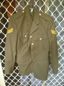 179-1-X-ARMY-COAT-JACKET-CORPORAL-MADE-1984-VGC-MILITARY-WITH-ALL-BUTTONS-95R