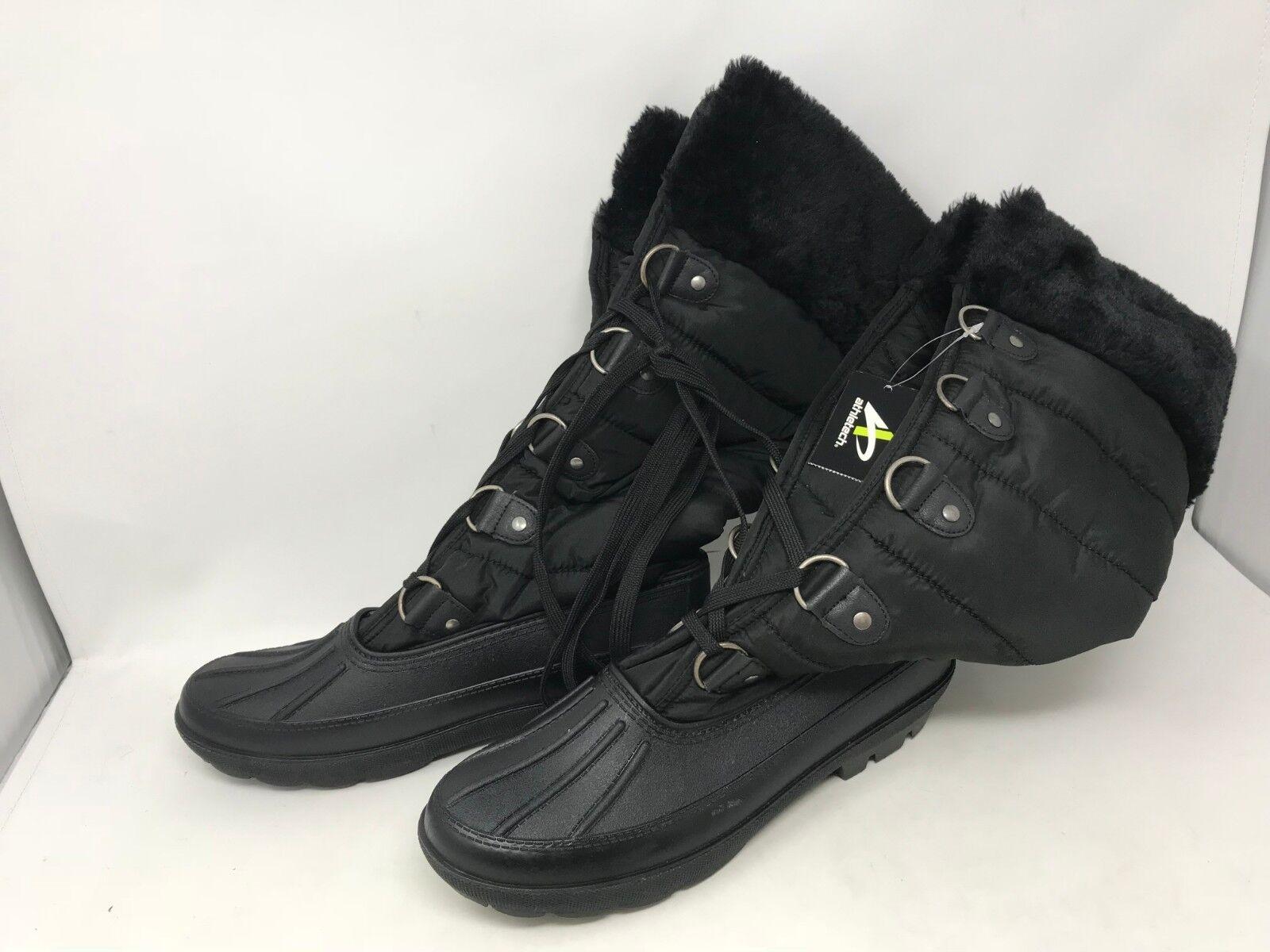 Womens Athletech (30630) Black Anessa Boots (19S)