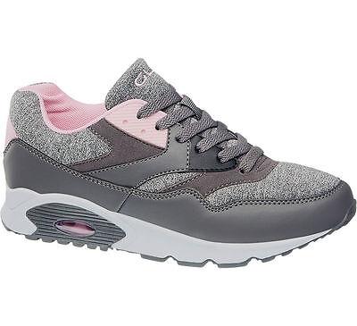 Deichmann Graceland Sneaker grau Neu