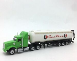 Details about 1:87 Scale Trailers KENWORTH T800 Gas Plus oil Truck Trailer
