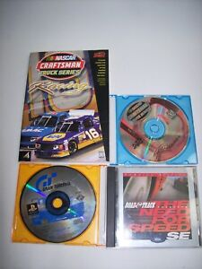 Racing-Games-PS1-amp-PC-Need-for-speed-SE-Gran-Turismo-Nascar-Truck-Free-Shipping