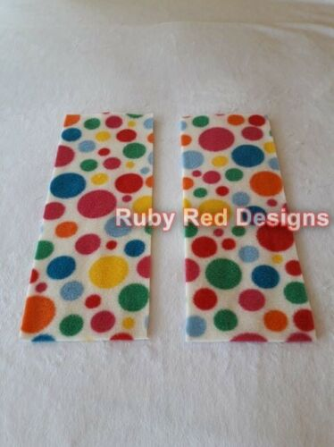 New Rectangle Fleece Nappy Liners NEUTRAL 5pk