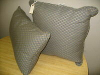 Frontgate Honeycomb Sapphire Outdoor Throw Pillow Blue