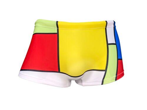 ModRian Square Cut Retro Swimsuit Mens Underwear Maris Equi Bargain Bundle